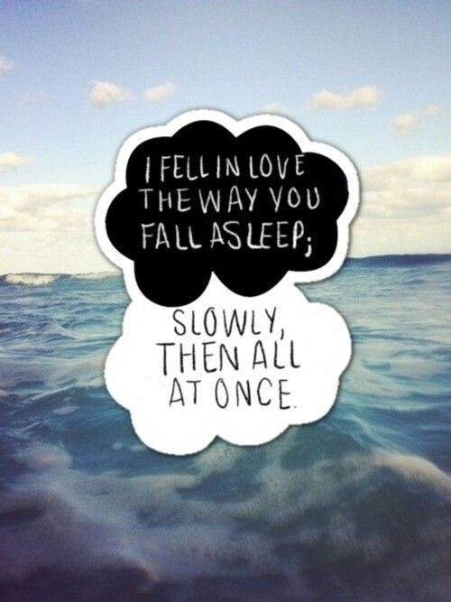 Quotes About Not Wanting To Fall In Love Tumblr : Een weeffout in onze sterren John Green biebmiepje