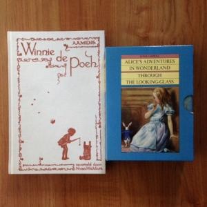 Winnie de Poeh en Alice in Wonderland