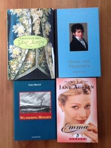 Jane Austen en Emily Brönte