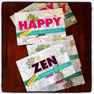 Happy & Zen kleurkaarten + winactie!