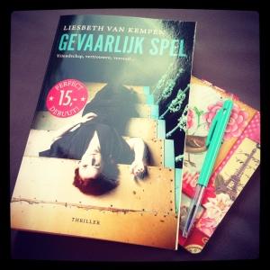 Blogtour: Gevaarlijk spel – Liesbeth van Kempen