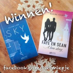 Hoera 500 likes op FB! Win: Sky & Faye en Sean