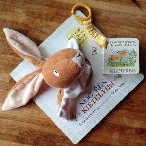 Raad eens hoeveel ik van je hou: Handpopboek & Buggyboekje