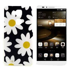 witte-bloemen-tpu-hoesje-voor-de-huawei-mate-7