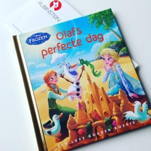 Frozen: Olafs perfecte dag – Gouden Boekje