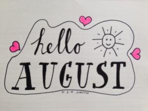 handlettering august