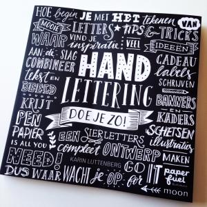 Handlettering doe je zo! – Karin Luttenberg